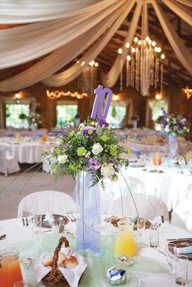 Alpine_Catering_wedding_venues_image : Table set up for a wedding